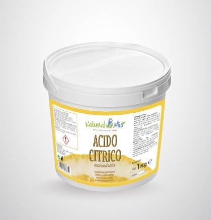 barattolo acido citrico