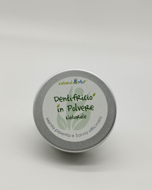 Dentifricio in polvere naturale